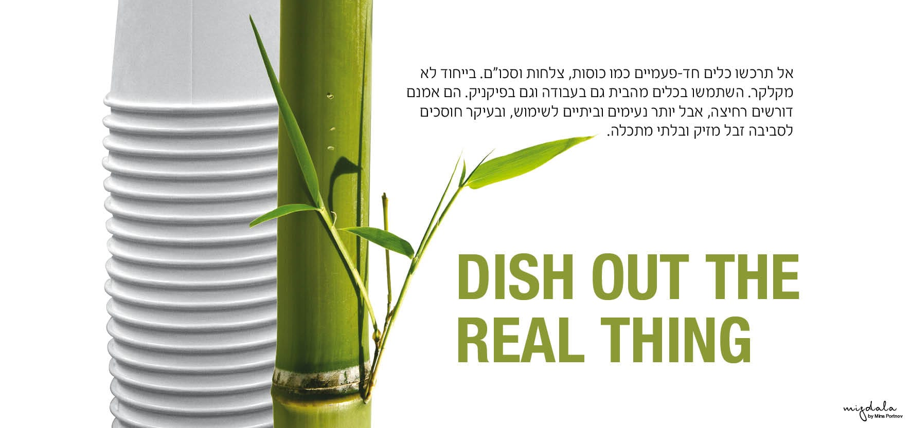 DISH OUT THE REAL THING