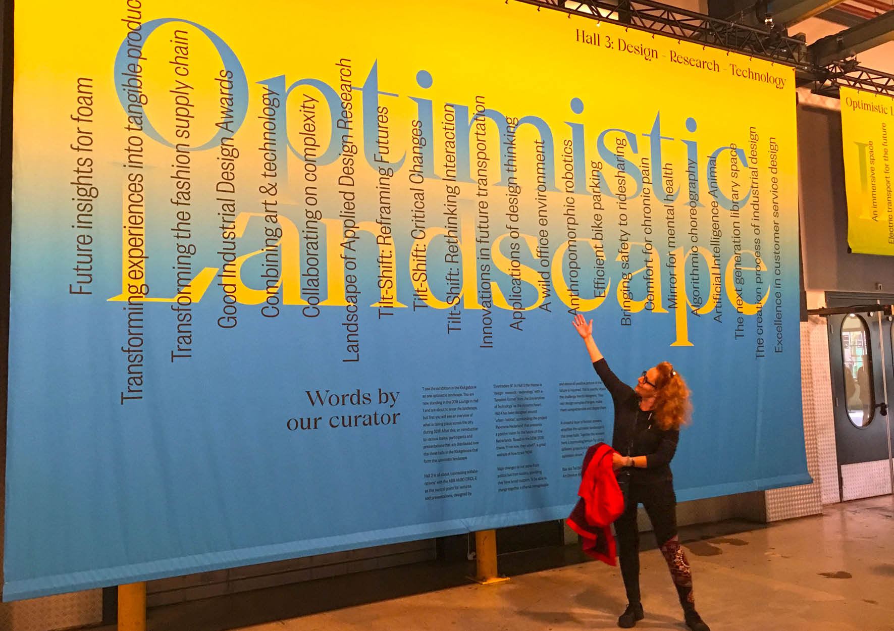Migdala Blog, Optimistic Landscape exhibition, Dutch Design week 2019