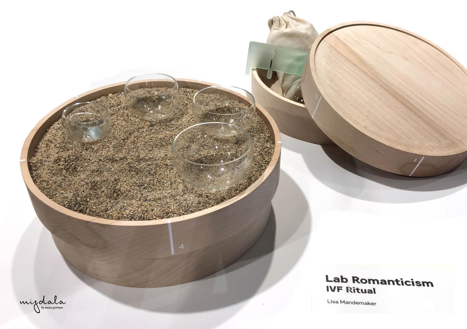 רומנטיקה במעבדהLab Romanticism - IVF Ritual/ Lisa Mandemaker