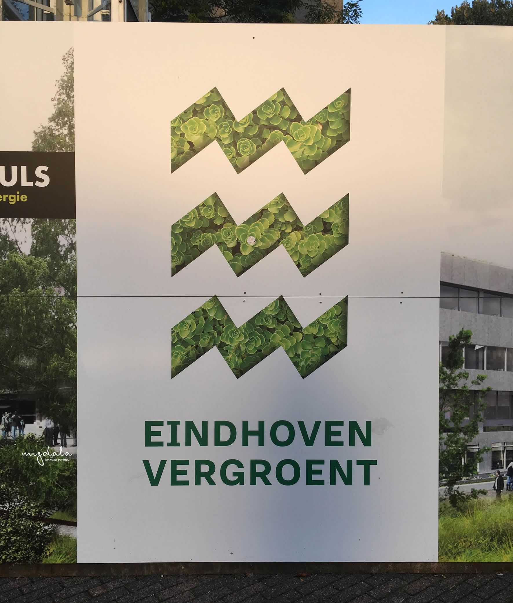 אחד היישומים של הלוגו של איינדהובן, שבוע העיצוב ההולנדי 2019