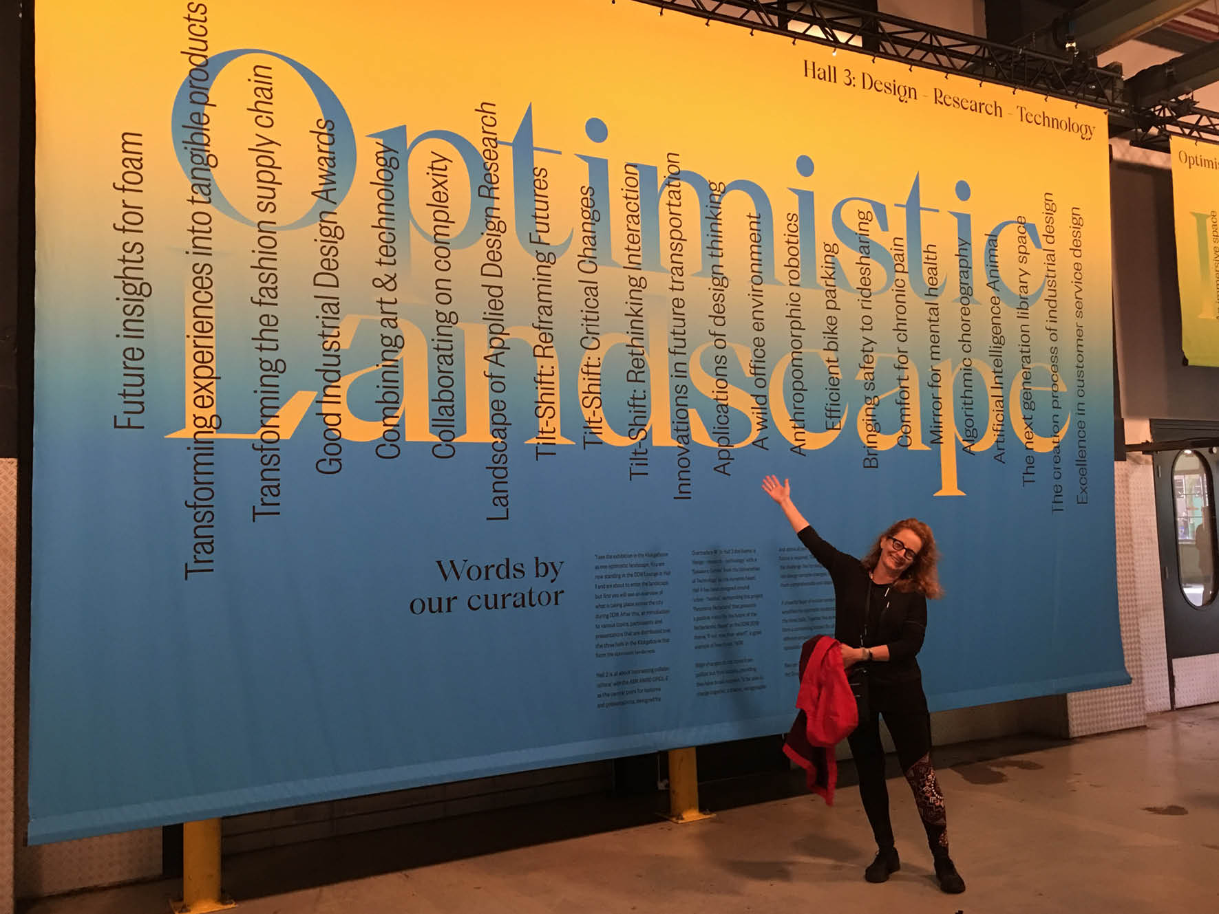 Optimistic Landscape exhibition, Dutch Design week 2019
