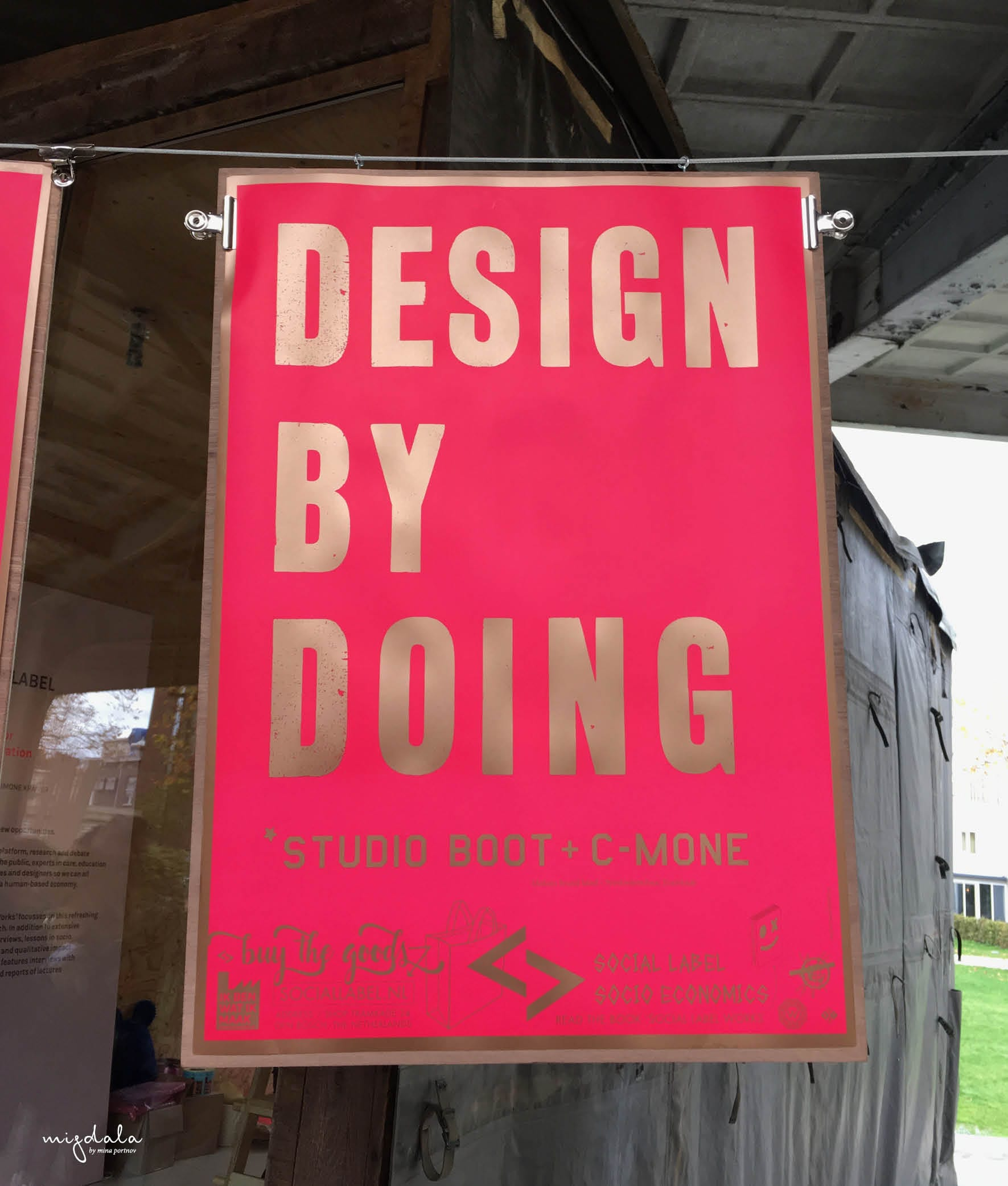 """A Social Label works - ""Design by doing"