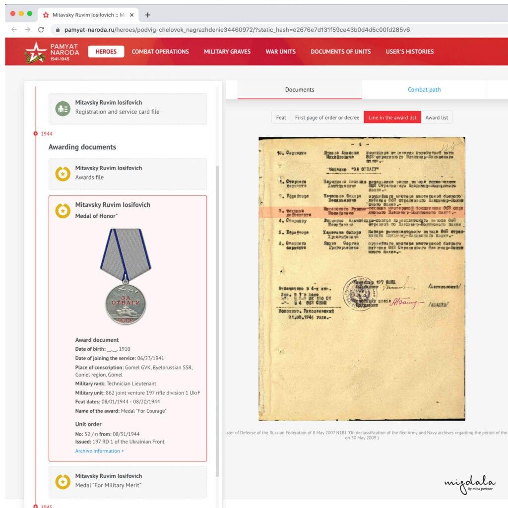 MedalsStorytelling