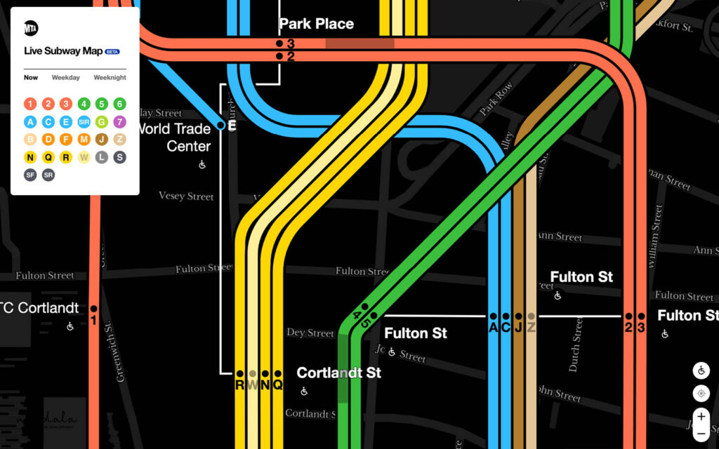 מפה חדשה דיגיטלית של הסבאווי, ניו יורק