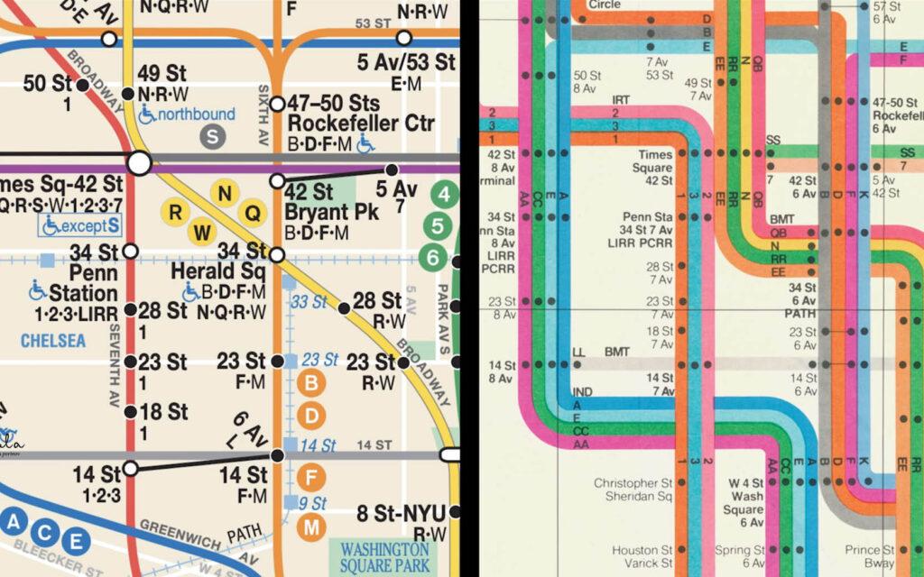 """המפה של מאסימו מול זו של מיכאל הרץ, מתוך הסרט """"The Map"""""""